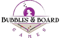 Bubbles & Board Games Logo